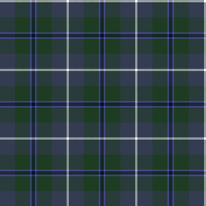 Douglas tartan, dark colors