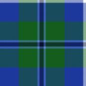 Douglas tartan, bright colors