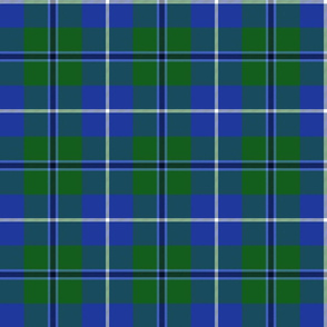Douglas tartan, bright colors