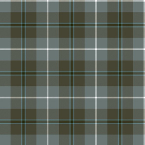 Douglas tartan, weathered colors