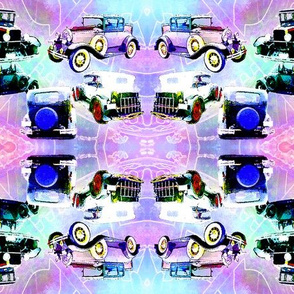 5 autos mirror -12x9