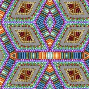 diamond beads - times 4