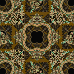 Formal ornate