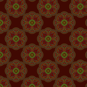 Persian ornament background