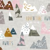 Max's Mountains (pink) REGULAR