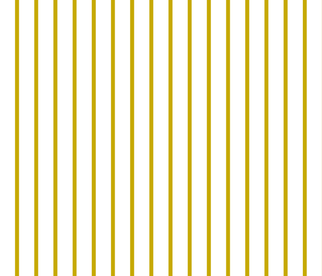 Thin Stripes Gold on White Vertical fabric by sierra_gallagher on Spoonflower - custom fabric