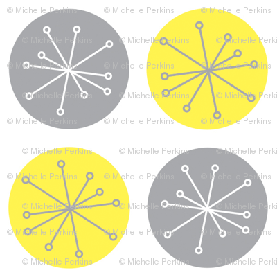 Atomic Dots Yellow