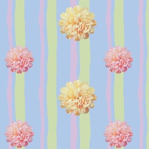 Pastel Sugar Candy Flowers