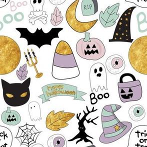 "8"" Pastel Halloween"