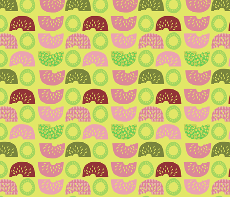 Sliced and Diced fabric by slumbermonkey on Spoonflower - custom fabric