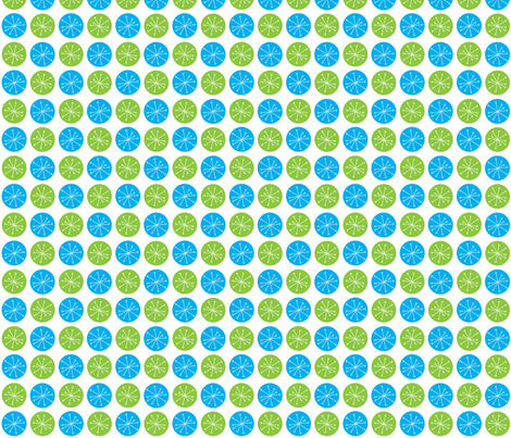 Atomic Dots Green fabric by speakeasyworks on Spoonflower - custom fabric