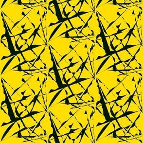 Wild Flight Over Daffodil Yellow