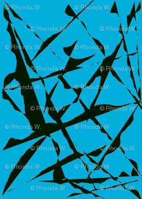 Wild Flight Over Blue Sky - Medium Scale