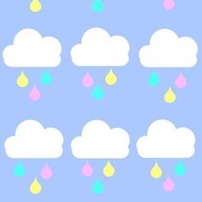 Pastel Raindrops