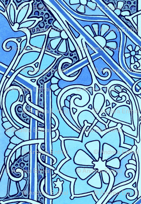 Stained Glass Blues