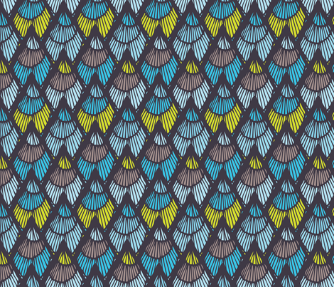 Lapices_Cool fabric by designertre on Spoonflower - custom fabric