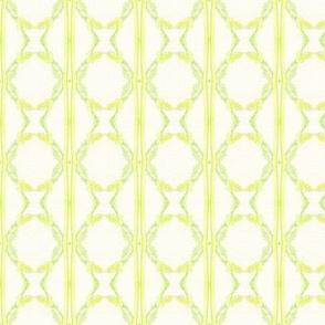 Green Pattern Circular