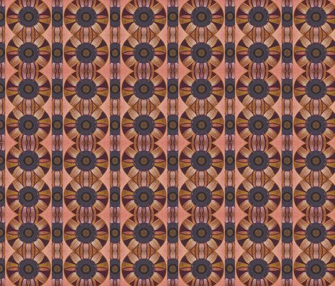 Intuit In Earth Tones fabric by helena_tiainen on Spoonflower - custom fabric