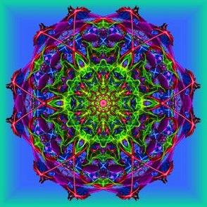 Mandala 1 blue