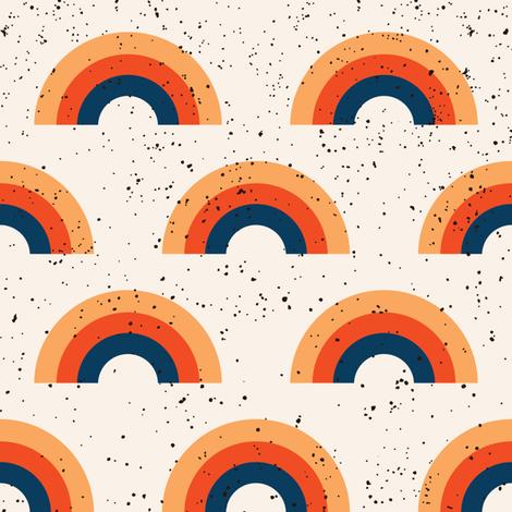 Rainbow Marfa fabric by tramake on Spoonflower - custom fabric