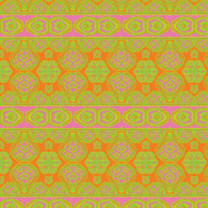 Marrakech Orange/Pink/Green/Yellow