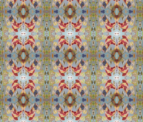"""Substructure"" deep color fabric by indira_marin_dingledine on Spoonflower - custom fabric"