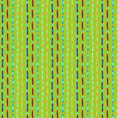Shaylah: Dots and Dashes fabric by tallulahdahling on Spoonflower - custom fabric