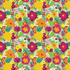 Jungle Floral 1