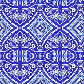 Saraswati - Blue