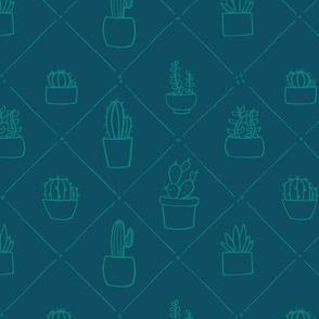 Succulent Quilt Pattern