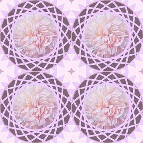 Lavender Floral Mosaic