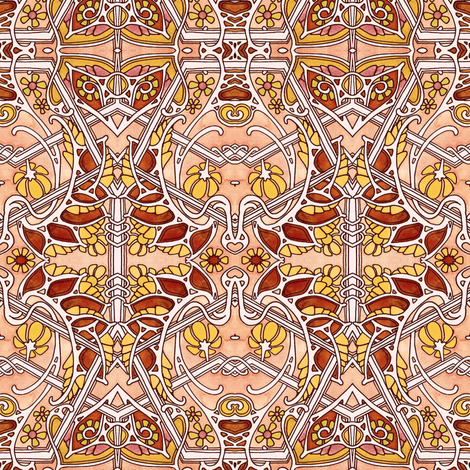 After the First Frost fabric by edsel2084 on Spoonflower - custom fabric