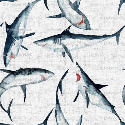 Great Whites are great on white ...