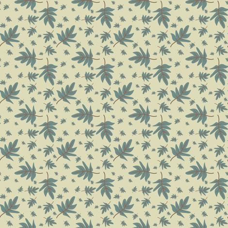 Woodland Foliage fabric by jdeebella on Spoonflower - custom fabric