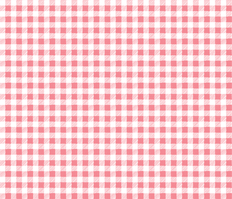 Sherbert White Buffalo Plaid fabric by northeighty on Spoonflower - custom fabric
