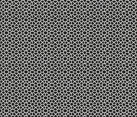 SketchyGeos_Circles Black White 1 fabric by northeighty on Spoonflower - custom fabric