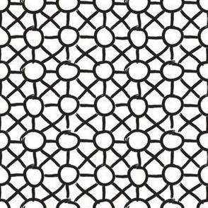 SketchyGeos_Circles Black White