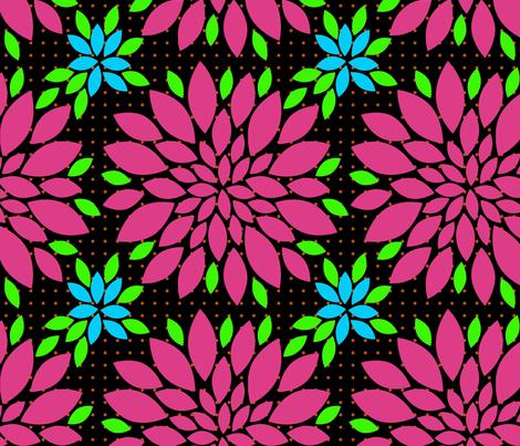 Flower Petals Kimono fabric by mammajamma on Spoonflower - custom fabric
