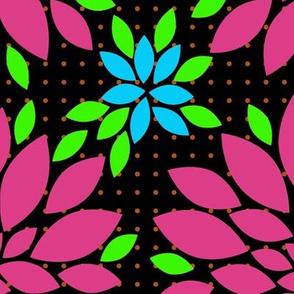 Flower Petals Kimono