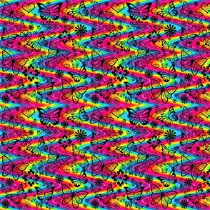 rainbow_stripes_butterflies