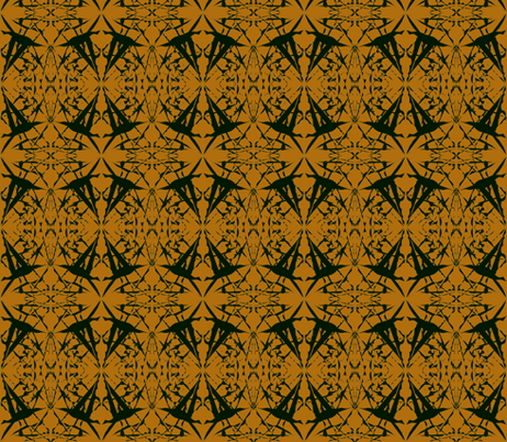 Spinning Tales of Flight on Gingerbread fabric by rhondadesigns on Spoonflower - custom fabric