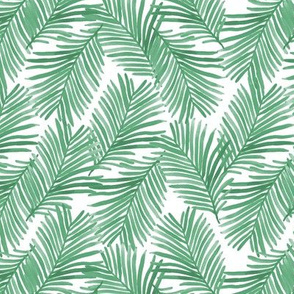 palm print green tropical palms summer trendy palm springs retro summer vibes