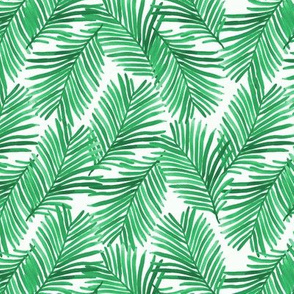 tropical palm print summer tropic exotic summer green trendy palms
