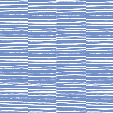 painted stripes periwinkle blue purple sweet stripes painted fabric by charlottewinter on Spoonflower - custom fabric