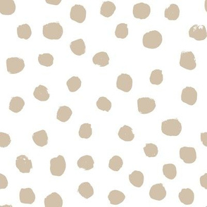 dots painted dots frosted almond brown pale nursery baby ids