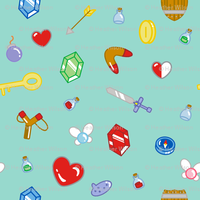 Adventure Items in Mint
