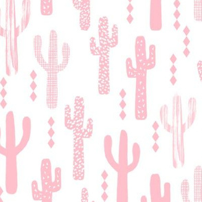 cactus pink girls sweet baby nursery southwest baby crib sheet blanket pink nursery baby cacti southwest