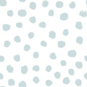 painted dots wan blue arctic blue gray blue nursery baby grey blue baby boy