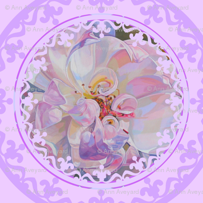 Exquisite Floral Trellis