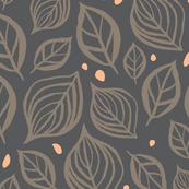 Skeleton Leaves: Gray